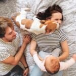 family protected by pet insurance